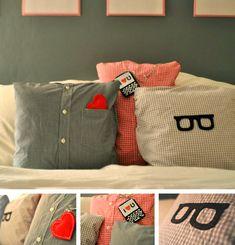 Shirts pillows