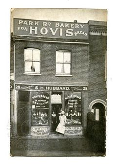 S.H. Hubbard bakery in Park Road, Acton, West London, c1905 | Retrograph