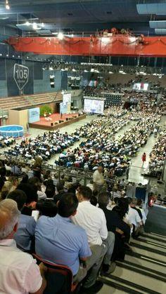 Congresso di zona Al 105 Stadium. Genova 2014