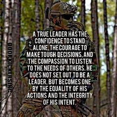 Lacking In Your Leadership Skills? Motivational Military Quotes, Military Leadership Quotes, Army Quotes, Inspirational Quotes, Servant Leadership, Military Memes, Soldier Quotes, Military Motivation, Warrior Quotes