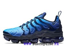 new concept 7c7ac 5d7b1 Nike Wmns VaporMax Plus 2018 Chaussures de Basketball Homme Bleu 924453-401  Basketball Homme,