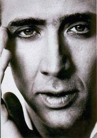 Nicolas Cage...my second love...I don't care if he's broke.
