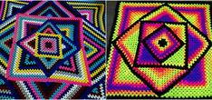 Crochet – Page 17 – Craft Ideas Crochet Crafts, Yarn Crafts, Crochet Projects, Knitting Patterns, Crochet Patterns, Crochet Afghans, Crochet Blankets, Crochet Ideas, Afghan Blanket