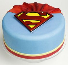"Superman | FunCakesGR     ...  I saw a t-shirt slogan the other day that I like ""I'm a Mom,  What's your super power?"""