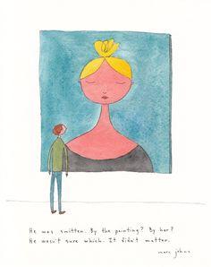 He was smitten — Marc Johns