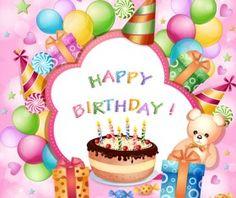 Cartoon Birthday cards design vector 03