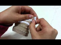 Punto de uña - YouTube Knitting Stitches, Hand Knitting, Knitting Patterns, Crochet, Silver Rings, Wool, Crystals, Diamond, Sewing