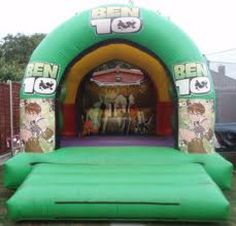 Ben 10 Bouncy Castle - Perfect for a Ben 10 party if your child is a fan of the show.