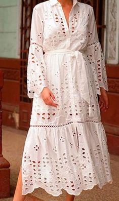 Lace Dress Styles, Lovely Dresses, African Attire, African Dress, Casual Dresses, Fashion Dresses, Cotton Long Dress, Blouse Models, Chiffon Dress