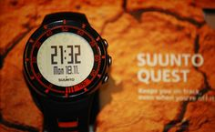 Suunto Quest HR Monitor Watch - The Juicy Kiwi Digital Watch, Kiwi, Monitor, Watches, Wristwatches, Clocks