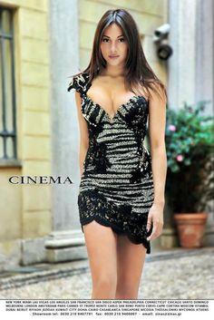 Cinema dress by Panos Zinas