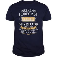 Weekend Forecast XXXXXXXXXX With No Chance Of House Cleaning Or Cooking T-Shirt. Limited Edition Lady Design - GET YOURS NOW.