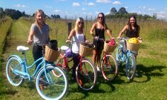 Grapemobile  - hire bicycle in the Hunter Valley