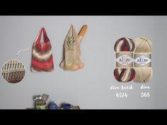 Alize Diva Batik ile File Çanta Yapımı-Making Net Bag with Alize Diva Batik - YouTube