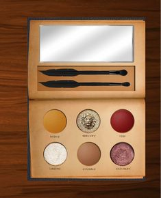 The Internet is spellbound by this Redditor's mock-up of Harry Potter makeup palettes—one for each House.
