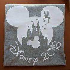 2018 Disney Family Shirts/ 2018 Disney Shirts/ 2018 Disney Shirts for Family Disney Shirt/Disney Castle Shirts Disney Diy, Disney Crafts, Walt Disney, Disney Stuff, Disney Tops, Matching Disney Shirts, Disney Shirts For Family, Family Shirts, Disney World Vacation