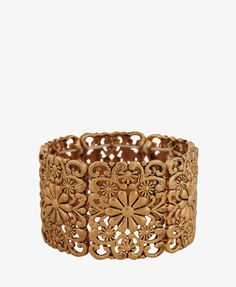 Stretchy Filigree Bracelet - $7.80