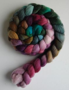 Three Waters Farm colorway Radicchio. love this colorway, have it and can't wait to spin it.  ;)