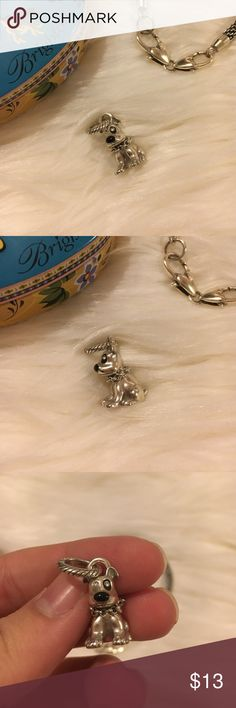Brighton Dog Charm Dog charm from Brighton. Good condition no major signs of wear on this piece. Looks close to perfect to me. This was mine when I was little and I never really wore it on my charm bracelet. No trades. Brighton Jewelry