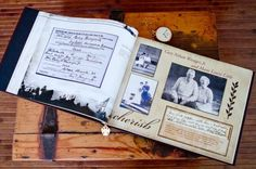 List of potential items to include in your Family History Book by lynda.washbrook