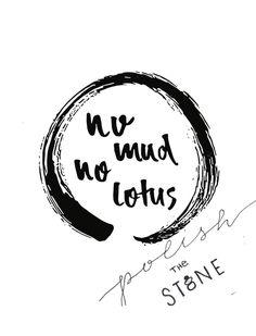 No Mud Lotus Phone Wallpaper Zen Art Enso Budo Buddhism Tao Digital Download By PolishTheStone On Etsy