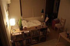 - ̗̀ saith my he A rt ̖́- Room Design Bedroom, Small Room Bedroom, Bedroom Decor, Studio Interior, Room Interior, Interior Design, Aesthetic Bedroom, Dream Decor, Dream Rooms