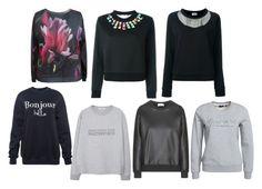 """bluzy"" by ada-raj on Polyvore featuring moda, MANGO, Fendi, GANT i Yves Saint Laurent"