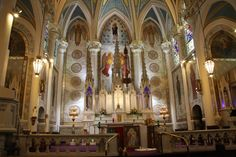 St. Mary's of the Angels, Olean, NY.