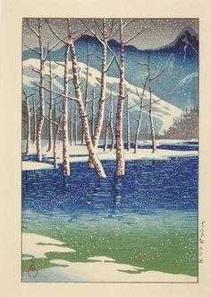 """Taisho Pond, Kamikochi"""