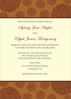 Flat Oversized Invitation - Sunburst (Tan)
