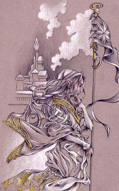 """""""We are the guardians of the issue of the Way of Escape. Rejoice that you have found it, for behold!- before you the City of Seven Names where all who war with Melko may find hope!"""" ...and very great was Tuor's amazement at the glory of Gondolin."""