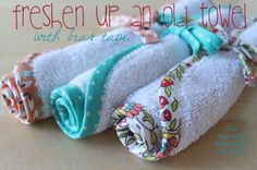 What to do with old bath towels? Try this!