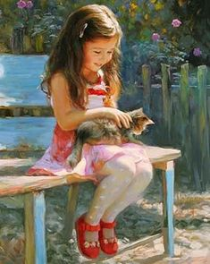 oil paintings by Vladimir Volegov, impressionism art