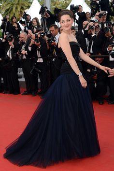 Marion Cotillard de Dior. Cannes 2012