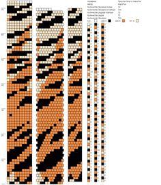 Tiger bead crochet pattern I like