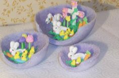 panoramic sugar Easter egg decorating ideas