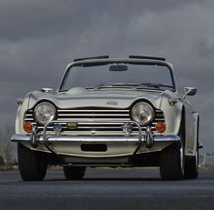 "motoriginal: "" '68 Triumph TR250 - British Charm """