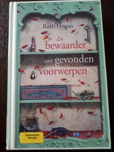 #boekperweek 41/52 Wauwww super mooi boek @Ruth Hogan  de bewaarder van gevonden voorwerpen...