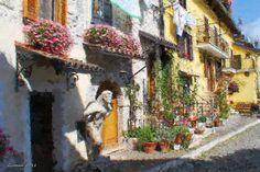 Scorcio+Pescasseroli Painting, Digital, Art, Art Background, Painting Art, Kunst, Paintings, Performing Arts, Painted Canvas