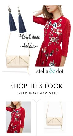 """""""Floral Fashion #3"""" by amy-kriz on Polyvore featuring ASOS and Stella & Dot"""