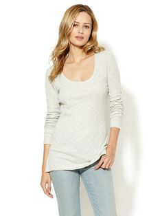 Dweller Scoop Neck Top by Saint Grace on Gilt.com