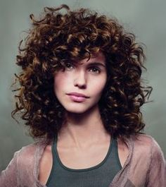 1000+ ideas about Curly Bangs on Pinterest | Curly Hair, Bangs and ...