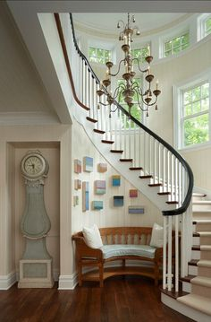 30 best decorating curved staircases images stairs curved rh pinterest com