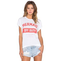 The Laundry Room Mermaid Off Duty Rolling Tee Tops