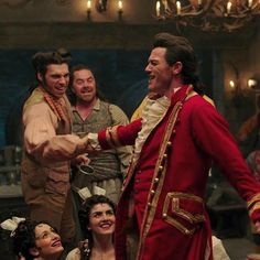 Gaston (live-action) & Gaston (musical) #beautyandthebeast #labellaylabestia #gaston #stanley #lukeevans #alexisloizon #disney