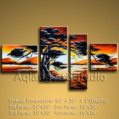Large Contemporary Wall Art Painting Framed Modern Oil Paintings Landscape BoYi $138.00 . More paintings available from eBay store http://stores.ebay.com/Oriental-Arts-And-Crafts/