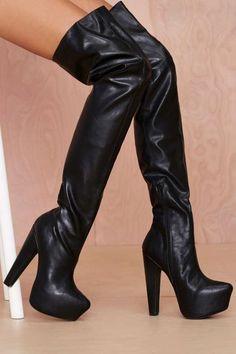 Jeffrey Campbell Zahara Thigh High Boot - Knee High