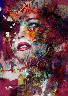 "Saatchi Art Artist yossi kotler; Painting, ""magnito"" #art"