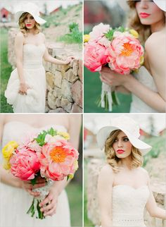 bridal session with stunning bouquet