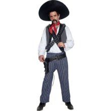 Smiffy's Western Authentic Mexican Bandit Costume